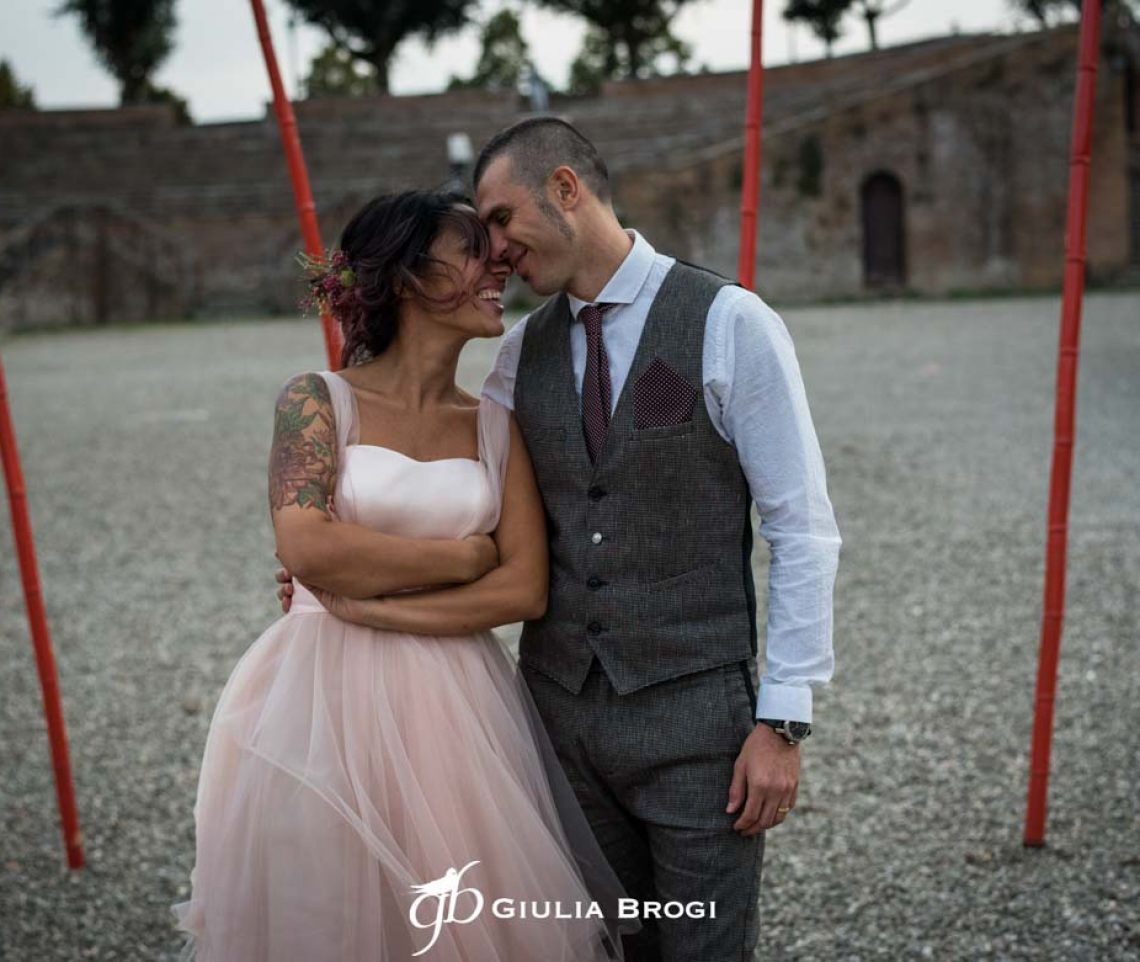 Caterina + Massimo – Matrimonio Siena – Rock&Country