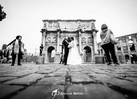 Eugenio + Monica: Rome classic wedding
