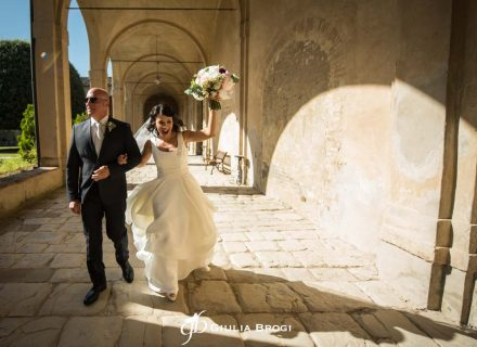 Giulia + Davide: Siena Rock Wedding