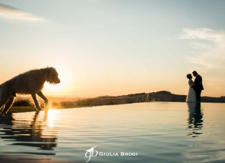 Giordano + Julie: val D'orcia Magical Open-air Wedding