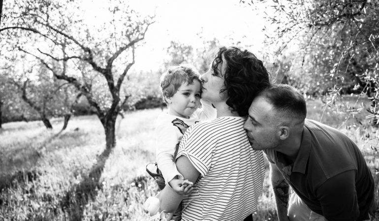 Family Photo Session: Giulia, Tiziano e Brando