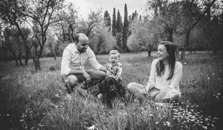Family Photo Session: Sara, Riccardo e Pietro