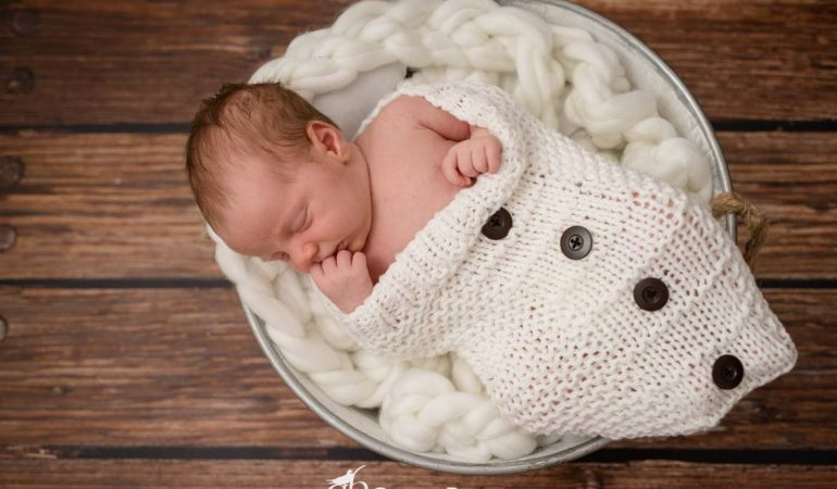 Newborn Photo Session : Ettore