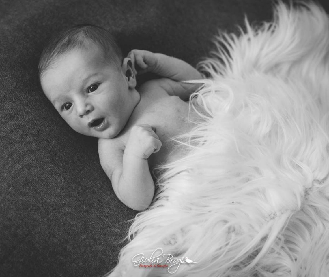 Newborn Photo Session: Pietro