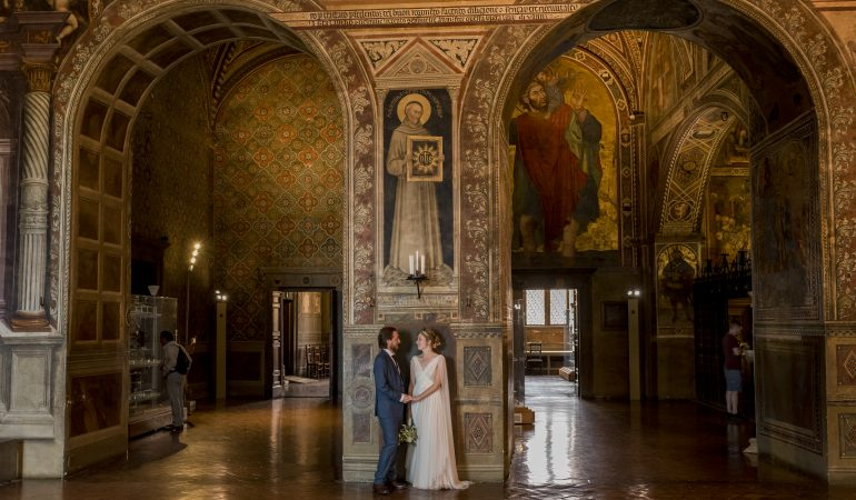 Wedding in Siena: Jessica & Mark
